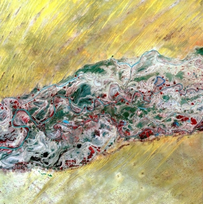 Le fleuve Sénéral par Spot 5
